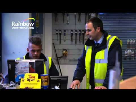 Balloo Hire Centres Testimonial for Rainbow Communications
