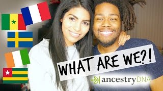 WHERE ARE WE FROM?! ANCESTRY DNA RESULTS 2017