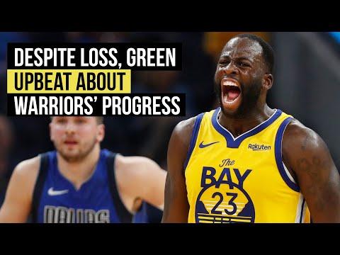 Despite loss, Green upbreat about Warriors' progress