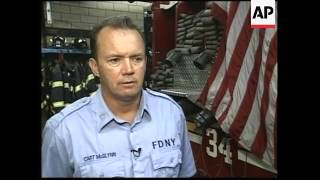 Feature on firehouse that lost most of their team during 9/11