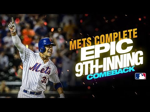 New York Mets continue hot streak with EPIC comeback