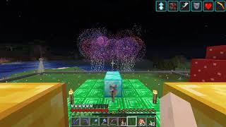 Luke TheNotable's Hardcore Minecraft Fireworks Show