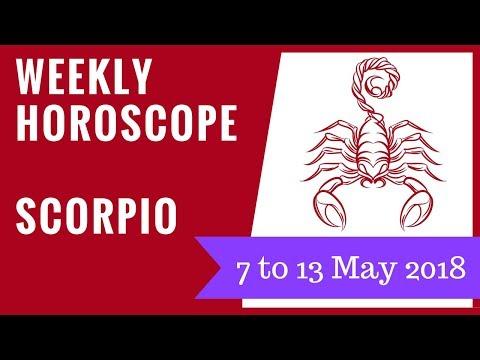 Scorpio weekly horoscope 7 to 13 May 2018