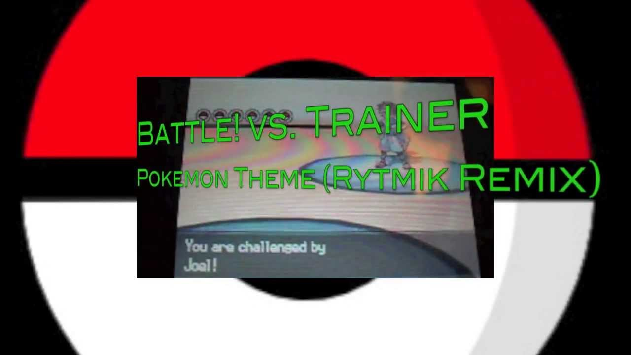 Pokemon Battle! vs. Trainer (Rytmik Remix) + Bonus Battle Video by MutaIIICSA