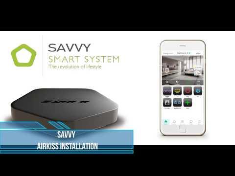 SAVVY installation -AirKiss method