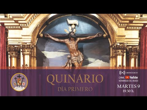 Solemne Quinario en honor del Santísimo Cristo de la Expiración - Martes 9 de febrero [DÍA1]