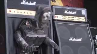 Evil Scarecrow Robototron Live at Bloodstock 2014