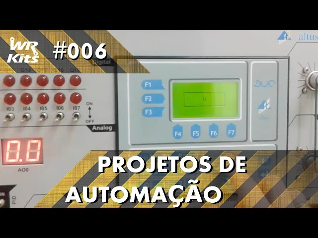TECLADO COM IHM NO CLP ALTUS DUO | Projetos de Automação #006