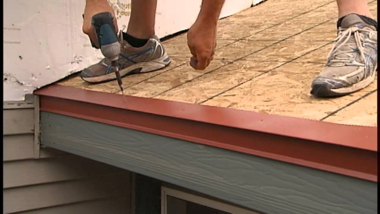 Roof Roof Underlayment Installation