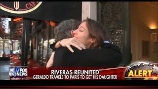 Watch Geraldo Rivera Reunite with Daughter in Paris After Attacks