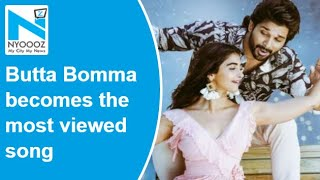 Allu Arjun's Butta Bomma becomes the most viewed video son..