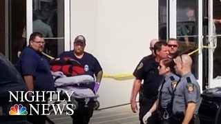 Gunman Injures 4 Outside Pennsylvania Courtroom | NBC Nightly News