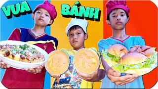 Tony | Cuộc Thi Của Các Vua Bánh - Hamburger & Pizza & Sponge Cake