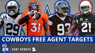 Dallas Cowboys Top 25 Free Agent Targets For 2021