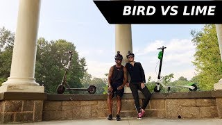 Electric scooter review Bird vs Lime / 5N5