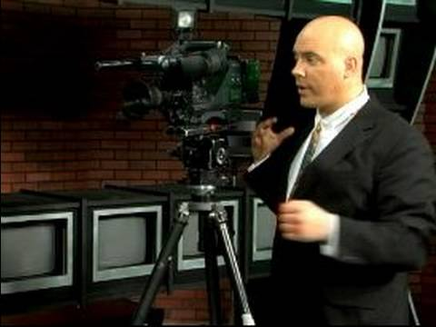 Camera Movements for TV News Reporter