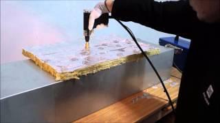 Zgrzewanie gwoździ typu GZO do kanału wentylacyjnego