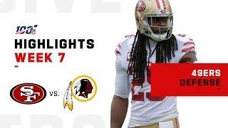 49ers Defense SHUTS OUT Washington | NFL 2019 Highlights