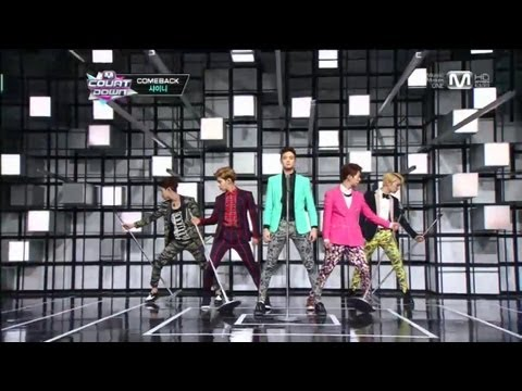 샤이니_Dream Girl(Dream Girl by SHINee@Mcountdown 2013.2.21)