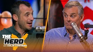 Playoff physicality affects Steph Curry, talks Rockets style & Kawhi —Doug Gottlieb   NBA   THE HERD