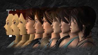 Lara Croft's Evolution- Tomb Raider Infographic