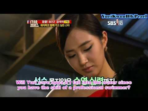 [ENG] Yuri and Yoona Cut @ K Star News