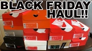 Black Friday Nike Pick Up Haul! November 2013