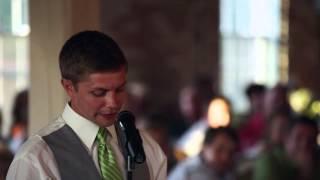 THE BEST Best Man Speech Ever! (Hilarious ending!)