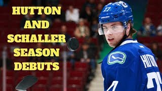 Vancouver Canucks: Ben Hutton and Tim Schaller draw in, and more thoughts on Elias Pettersson