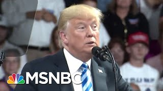 President Donald Trump Turns To Twitter To Break Silence On Michael Cohen | Morning Joe | MSNBC
