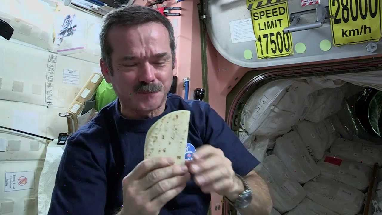 what food astronauts eat in space - photo #23