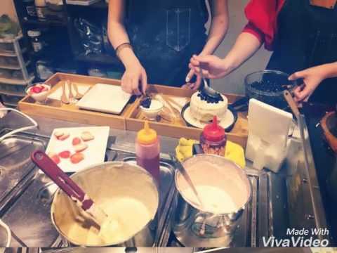 「台南美食x迪利小屋」甜點霸主 -- 霜花亭