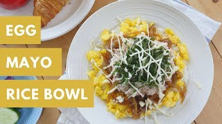 Egg Mayo Bowl (with Chicken Brest)