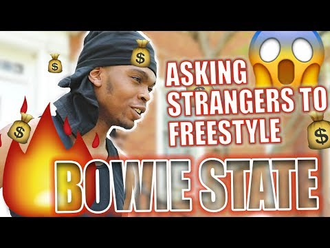 WSHH Asking STRANGERS to FreeStyle | BOWIE STATE (PART 1)
