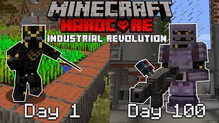 I Survived 100 Days in the Industrial Revolution | Hardcore Minecraft