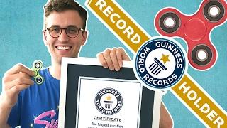 We Broke The Fidget-Spinning World Record