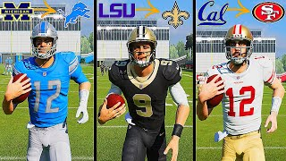What If EVERY Starting Quarterback Went To The Team Closest To Their College? Madden 21