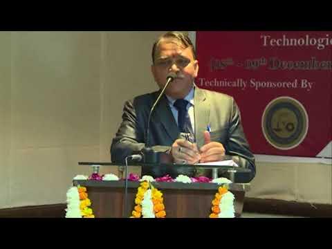 Speech by Prof. N.P. Kaushik ,Vice Chancellor, RTU(Kota) at 2nd International Conference   ICCCT2017