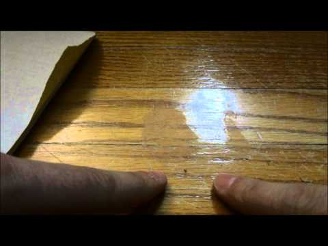 How To Repair Scratched Hardwood Floor