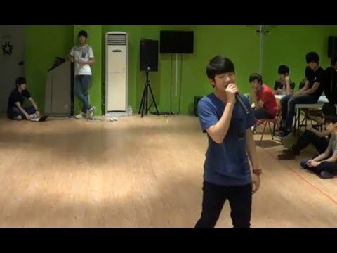 130725 'Doll' (Lee Jihoon & Shin Hyesung) practice