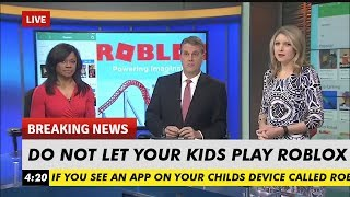 News Reporters Say Roblox Is Not Kid Friendly