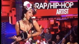 Cardi B Wins Best Rap Hip Hop Artist AMA Awards Offset Supports His Wife