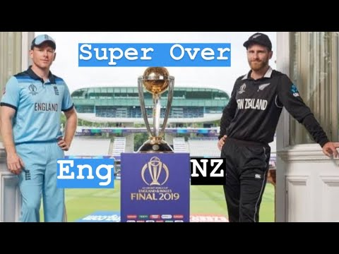 ICC CWC 2019 New Zeland VS England Super Over | World Cup Super Over