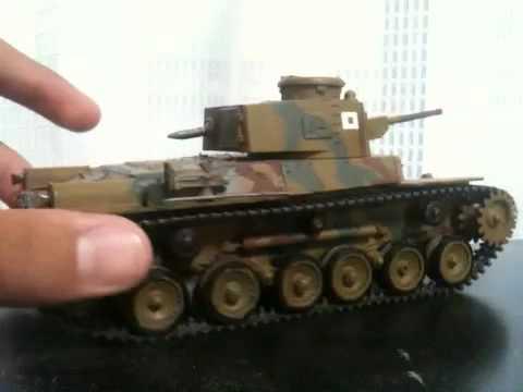 ゆっくり赤城の九七式中戦車製作記