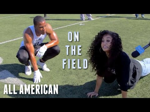 On The Field With The Cast of The CW's All American
