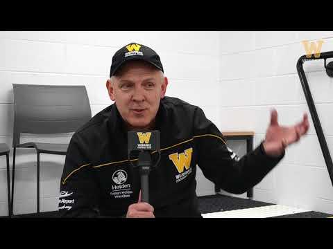 John Lamont: round 21 post game (Werribee vs North Melbourne)