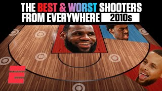 The best and worst NBA shooters of the 2010s from everywhere on the floor   NBA on ESPN