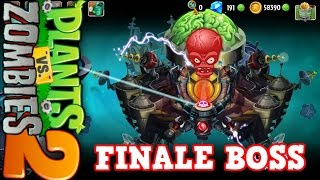 FINAL BOSS  Futuro lejano plants vs zombies 2
