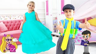 Diana and Roma DIY Fashion Show cartoon