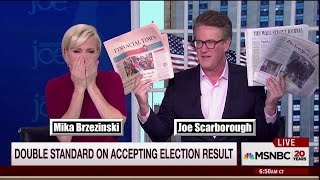 "Morning Joe Calls Out Media Re: Recount ""You keep getting it wrong"""